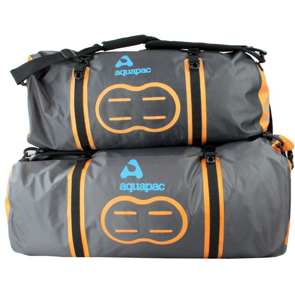 Two waterproof duffels - other side