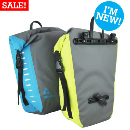 Aquapac waterproof bike panniers NEW-SALE