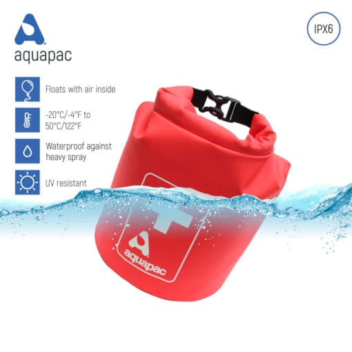 174 keypoints waterproof first aid kit drybag