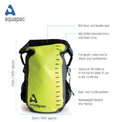 791 tech waterproof backpack aquapac