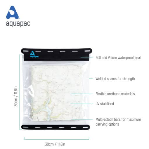 808 tech waterproof map case aquapac
