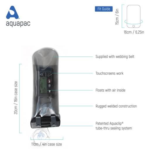 158 tech waterproof insulin pump case aquapac