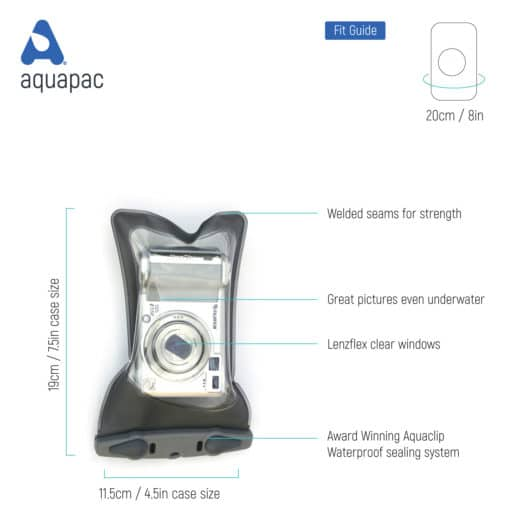 408 tech waterproof camera case aquapac