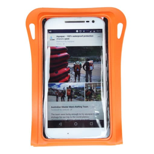 081 front waterproof phone case aquapac