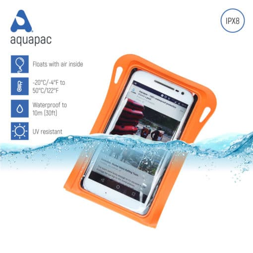 081 keypoints waterproof phone case aquapac
