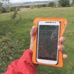 081 lifestyle1 waterproof phone case aquapac