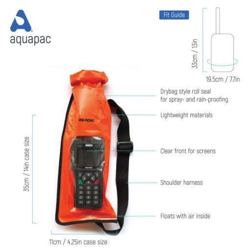 214 tech waterproof radio case aquapac