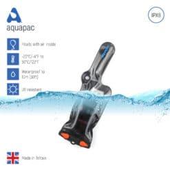 228black keypoints waterproof radio case aquapac