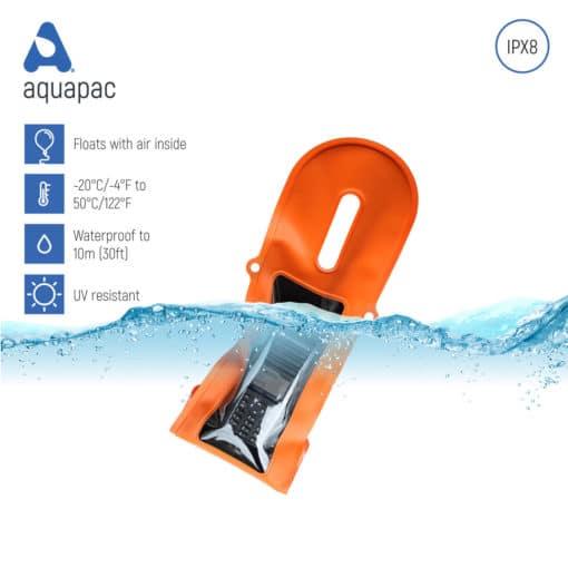 240 keypoints waterproof radio case aquapac