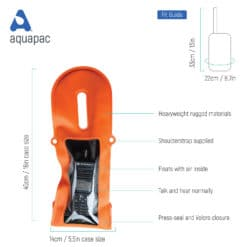 240 tech waterproof radio case aquapac