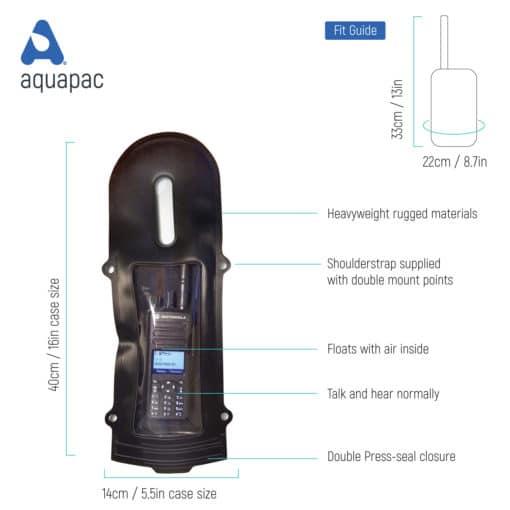 241 tech waterproof radio case aquapac