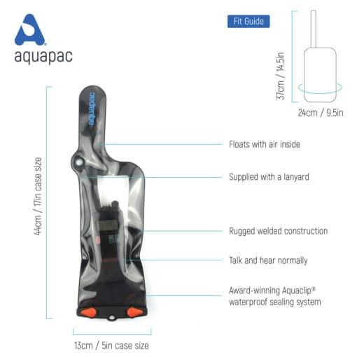 248 tech waterproof phone case aquapac
