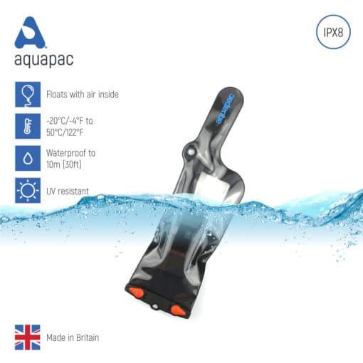 248black keypoints waterproof radio case aquapac