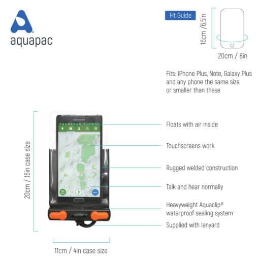 2001 tech budget waterproof phone case aquapac