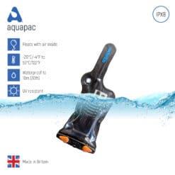 208black keypoints waterproof radio case aquapac