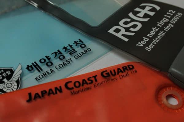 aquapac custom print coastguards