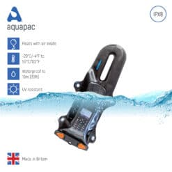 229black keypoints waterproof radio case aquapac