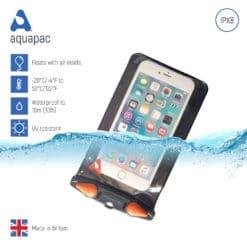 357 keypoints waterproof phone case aquapac