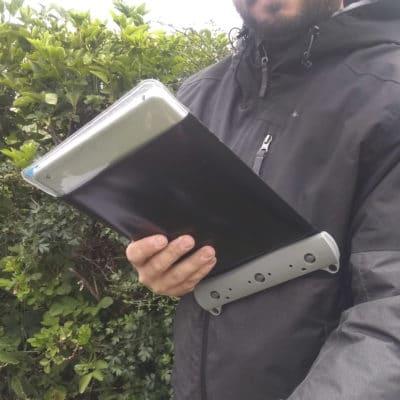 669 lifestyle1waterproof ipad tablet case aquapac