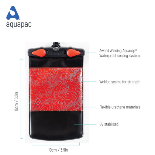 mpc20 tech waterproof phone case aquapac