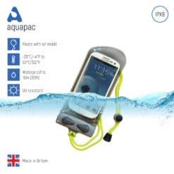 108 keypoints waterproof phone case aquapac