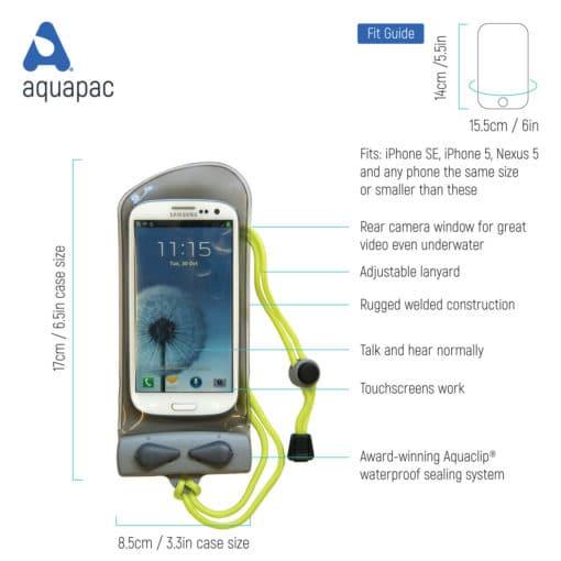 108 tech waterproof phone case aquapac