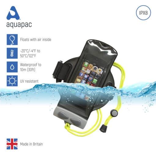 216 keypoints waterproof armband case aquapac