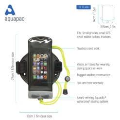 216 tech waterproof armband case aquapac