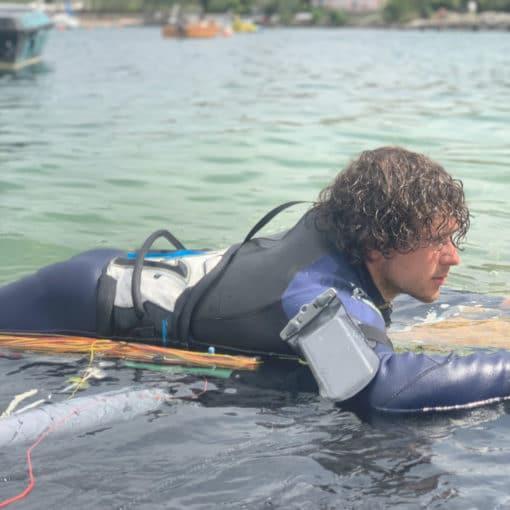 218 lifestyle1 waterproof armband case aquapac
