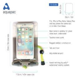 358 tech waterproof phone case aquapac