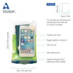 363 tech waterproof phone case aquapac