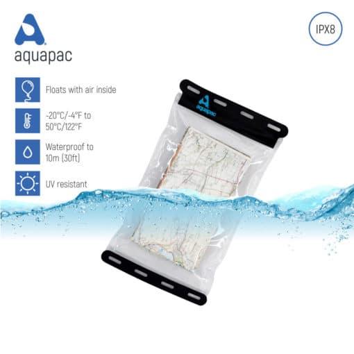 809 keypoints waterproof map case aquapac