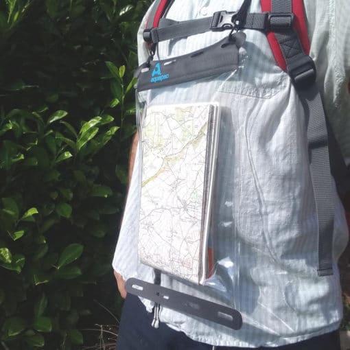 809 lifestyle1 waterproof map case aquapac