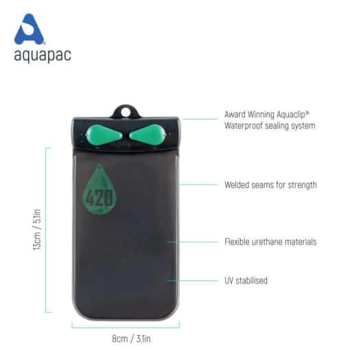 420 tech waterproof case aquapac